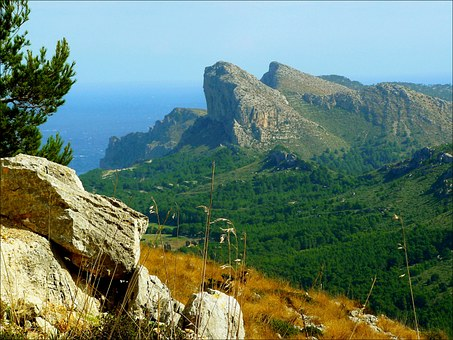 Cape Formentor, Mountains, Mountain Landscape, Coast
