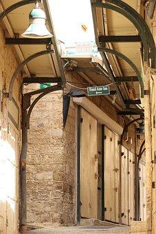 Market, Hallway, Corridor, Empty