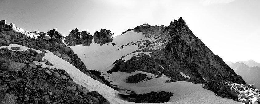 Mountain, Peak, Landscape, Enchantments, Aasgard Pass