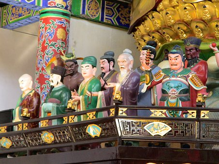 China, Figures, Fengcheng, House Of Prayer