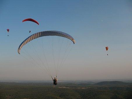 Paragliding School, Aircraft, Free Flight