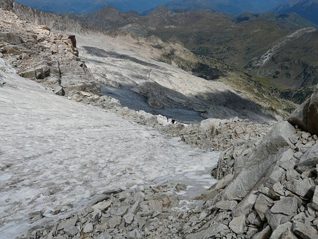 Eisfeld, Glacier, Mountaineer, Hike, Pico Aneto