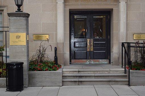 Closed Door, Law Society, Law Society Of Upper Canada