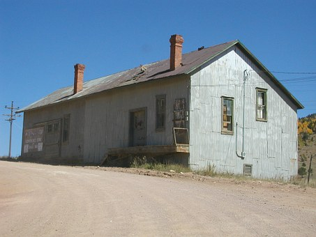 Mining Building, Old Western Mining Building, Colorado