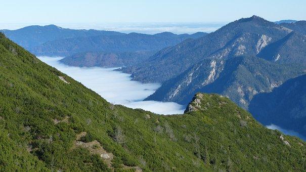 Alpine, Mountains, Blue, Walchensee, Rock, Nature