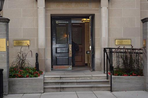 Opened Door, Law Society, Law Society Of Upper Canada
