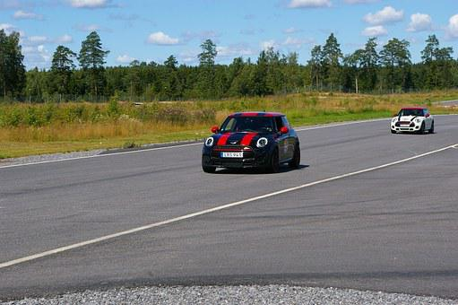 Minicooper, Race, Car, Sports, Speed