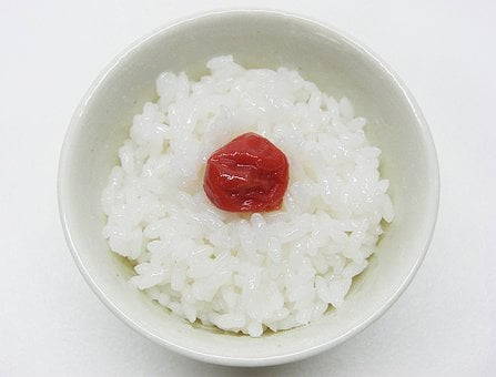 Rice, Food, Pickled, Plum, Salted, Japanese, Apricot