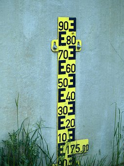 Water Gauge, Measure, Water Height, Pay, Scale