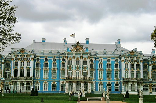 Tsarskoe Selo Estate, St Petersburg, Royal Palace