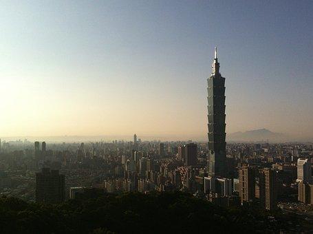 Sunset, Taiwan, Taipei