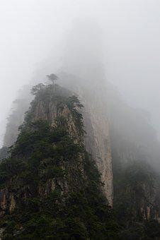Huangshan, Winter, A Surname Mist, Mountains