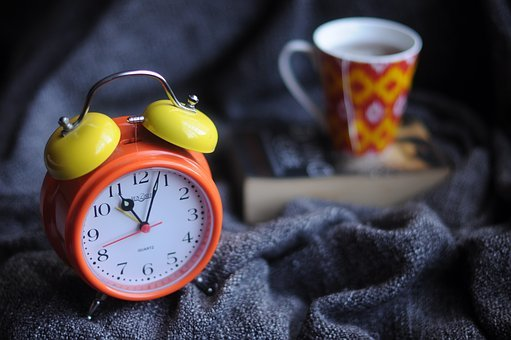Alarm Clock, Blur, Clock, Close-up, Cup, Focus, Gold