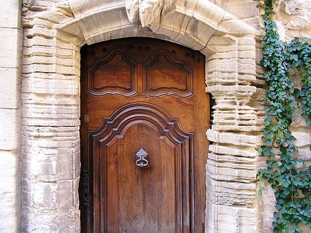 Entrance Door, Antique, Wooden Door, Front Door