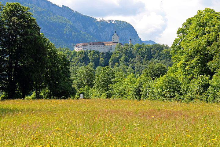 Castle, Aschau, Hohenaschau, Height Burg, Bavaria