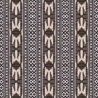 Pattern, Texture, Black And White, Textile, Ethno