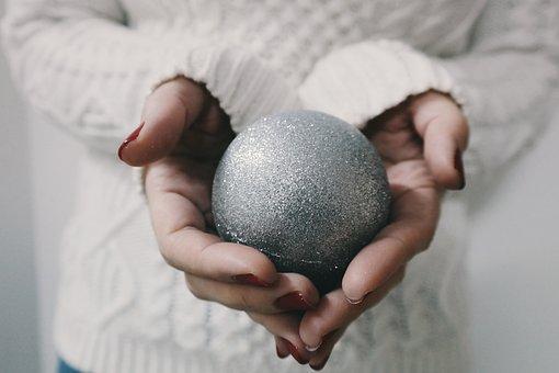 Adult, Ball, Blur, Child, Christmas, Conceptual, Family