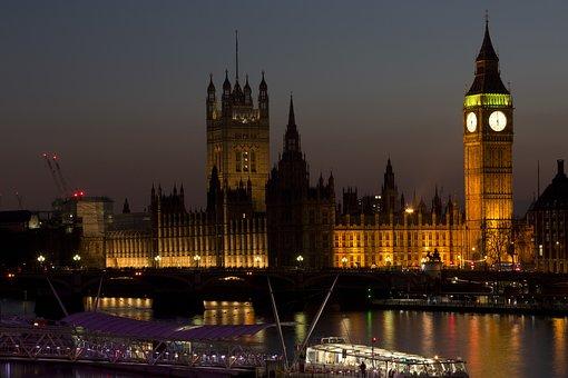 Architecture, Big Ben, Boat, Bridge, Buildings, City