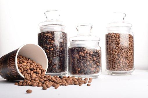 Aromatic, Batch, Coffee, Coffee Beans, Cup, Food, Jar