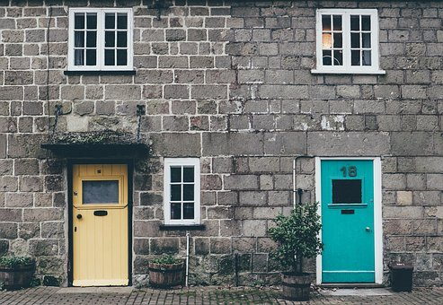Architecture, Building, Concrete, Doors, Facade