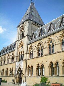 Oxford, England, Muzeum, Buildings