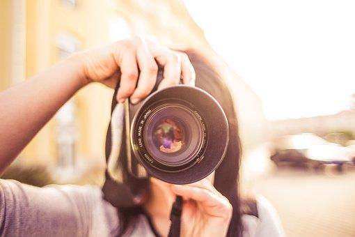 Adult, Blur, Camera, Close-up, Equipment, Focus, Girl