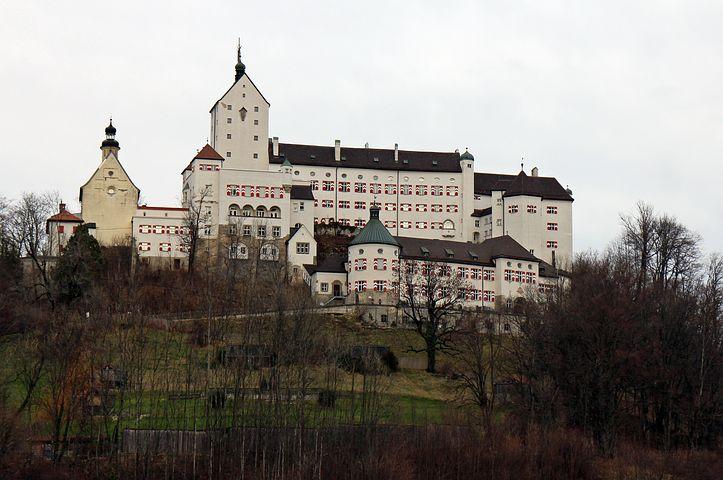 Hohenaschau, Castle, Height Burg, Height, Aschau