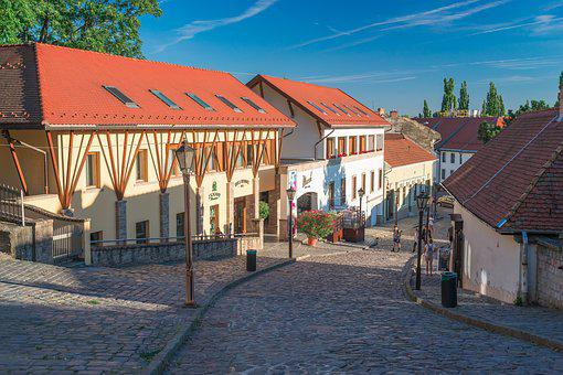 Eger, Hungary, City, Castle, Monument, Panorama, View