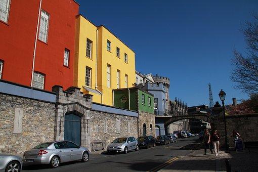 Dublin Castle, Building, Ireland, Dublin, Irish