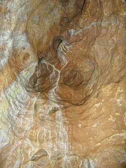 Rock, Limescale, Cave, Vertical Cave Of Laichingen
