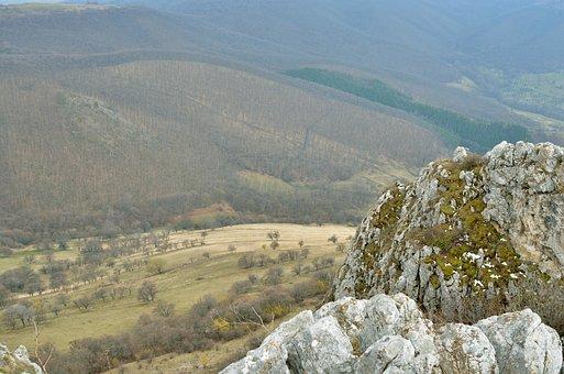 Panorama, Peak, Mountains, Transylvania, Nature