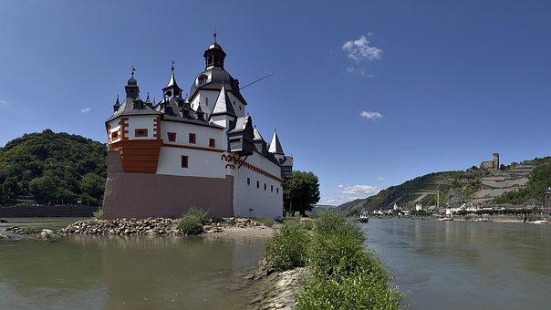 Pfalzgrafenstein, Rhine, Castle, Kaub