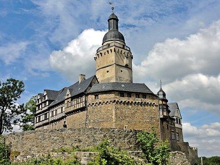 Castle Falkenstein, Monument, Resin, Summer, Nature
