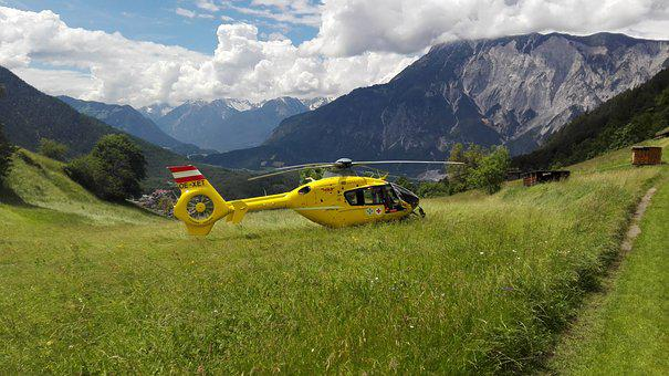 Rescue Helicopter, Helicopter, Ambulance Helicopter