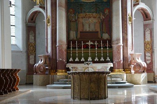 Beuron, Monastery, Architecture, Germany, Church, Faith