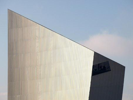 Imperial War Museum, North, Manchester, Architecture