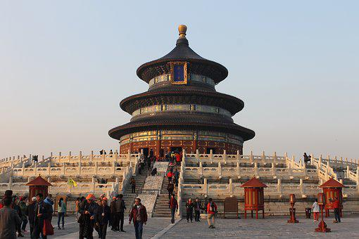 Beijing, The Temple Of Heaven, Monument