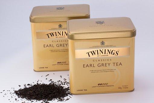 Black Tea, Tea Tins, Tee, Earl Gray, Twinings Of London