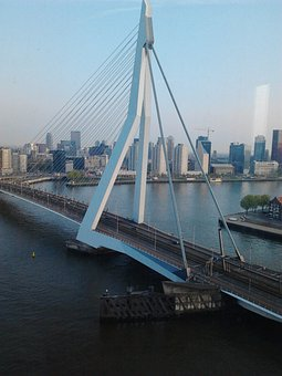 Erasmus Bridge, Cable Stayed Bridge