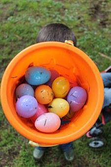 Easter, Easter Eggs, Boy, Colorful, Celebration