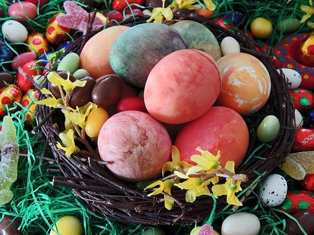Easter Nest, Easter Eggs, Easter, Egg, Decoration