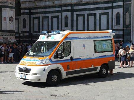 Ambulance, Emergency Services, Italy, Emergency