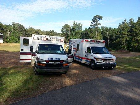 Ambulances, Emergency Vehicle, Save Lives, Emergency