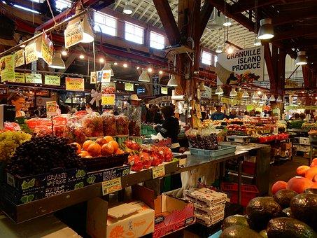 Public Market, Granville Island, False Creek, Vancouver