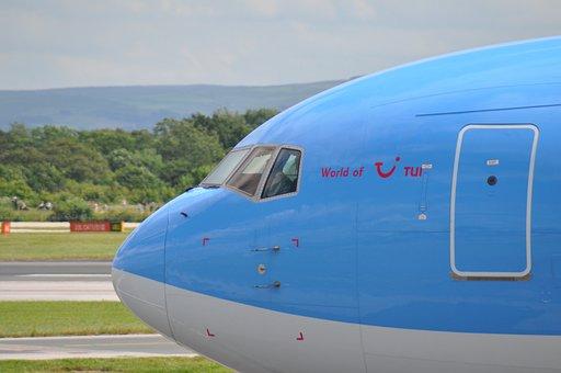 Airplane, Flight, Plane, Aircraft, Transport, Business