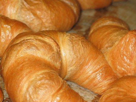 Croissant, Baked Goods, French, France, Eat, Breakfast
