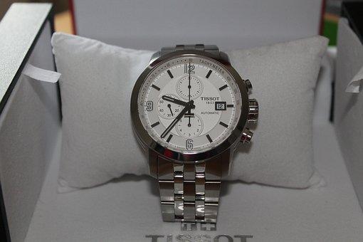Wristwatch, Chronograph, Automatic, Steel, Gents