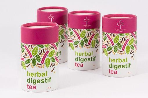 Tee, Packaging, Herbal Tea, Verdauungstee, Food, Drink