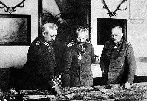 Kaiser Wilhelm Ii, General Erich Ludendorff, Hindenburg