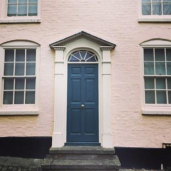 Front, Door, House, Manchester, Knutsford, Beautiful